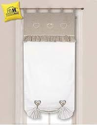 Risultati immagini per tende lino e uncinetto per cucina | uncinetto ...