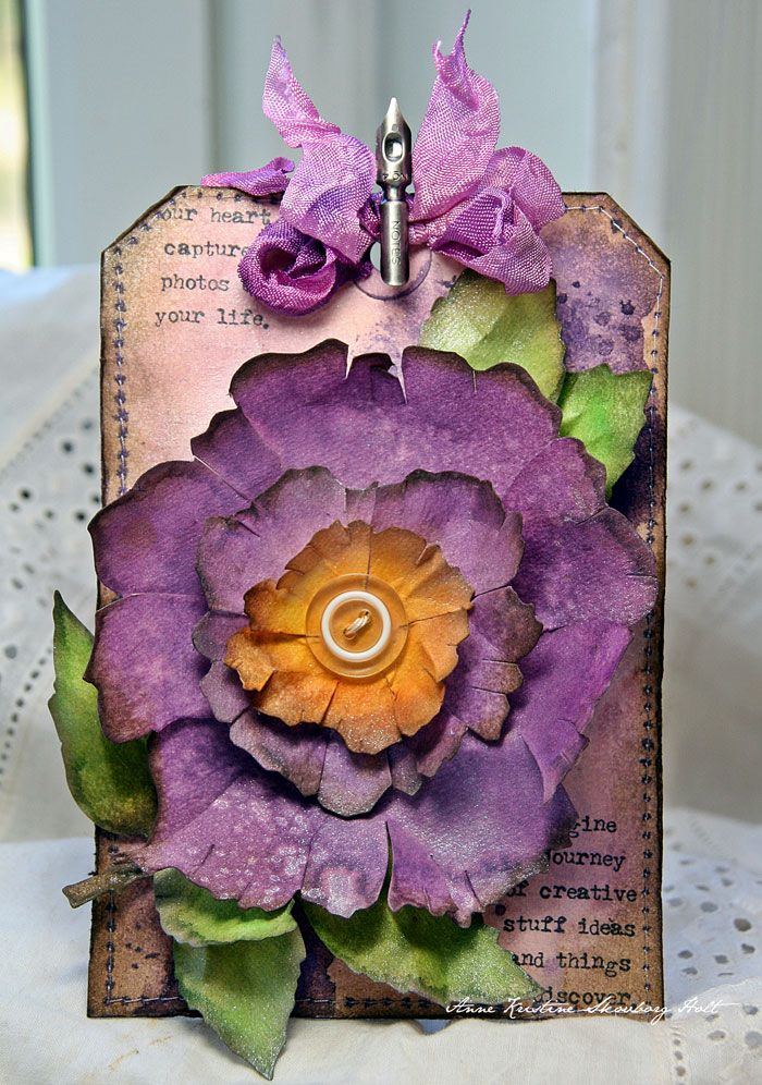 Crafting ideas from Sizzix UK Tag by Anne. That's one of