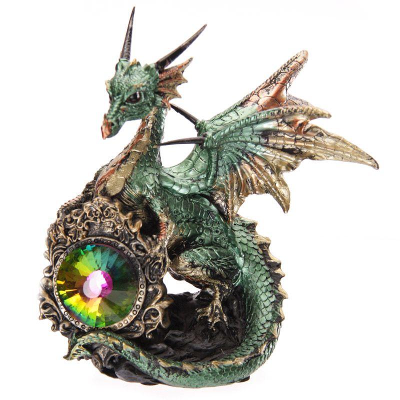 Dark Legends Crystal Shield Dragon #dragon #crystal #fantasy #dark