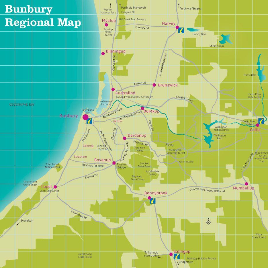 Bunbury Regional Guide