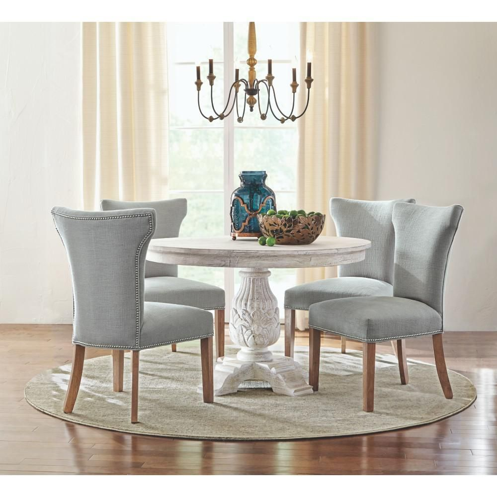 home depot white table