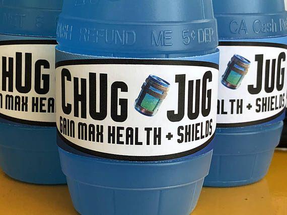 graphic relating to Chug Jug Printable identify Pin upon birthday bash for boys