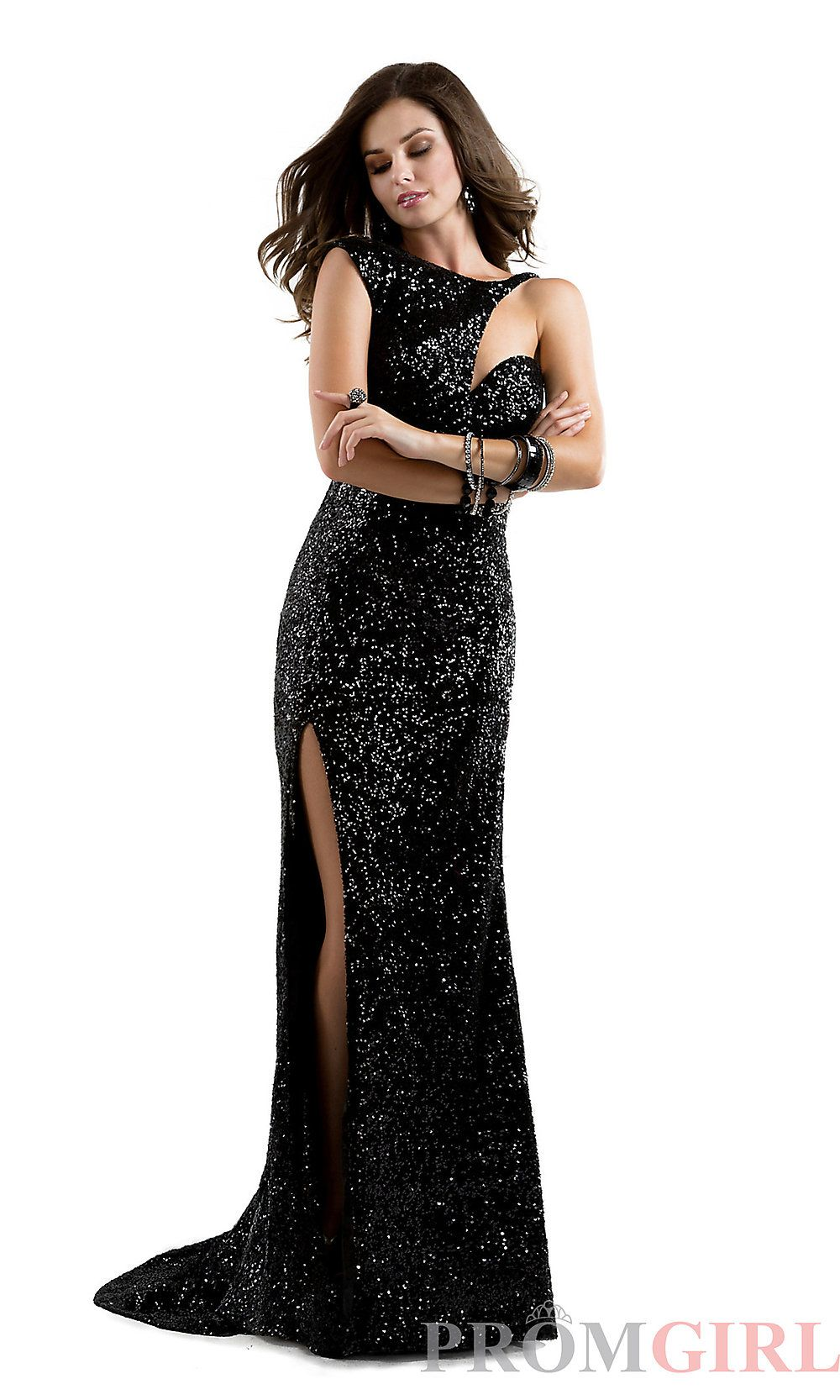 7d5fb3977ec Long Sequin Prom Dress