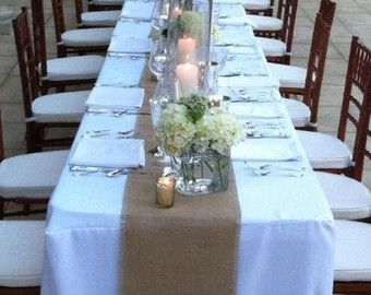 Cheap Rustic Table Runners, Buy Quality Decoration Table Runner Directly  From China Decorative Decorative Suppliers: Rustic Burlap Wedding Table  Runners ...