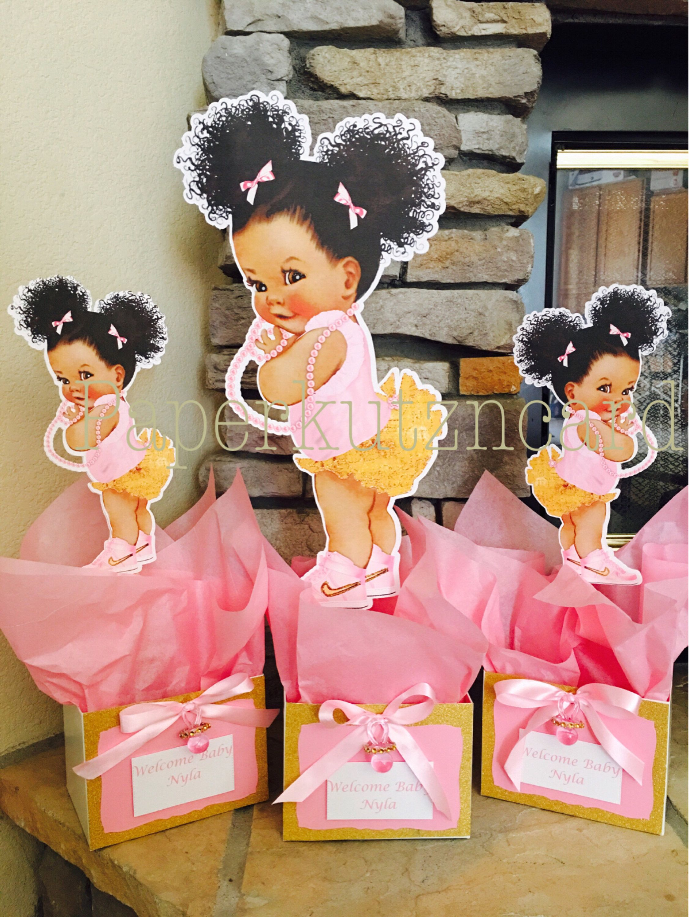 Afro Puff Babies African American Baby Royal Baby Shower Etsy Royal Princess Baby Shower Royal Baby Showers Baby Girl Shower Themes
