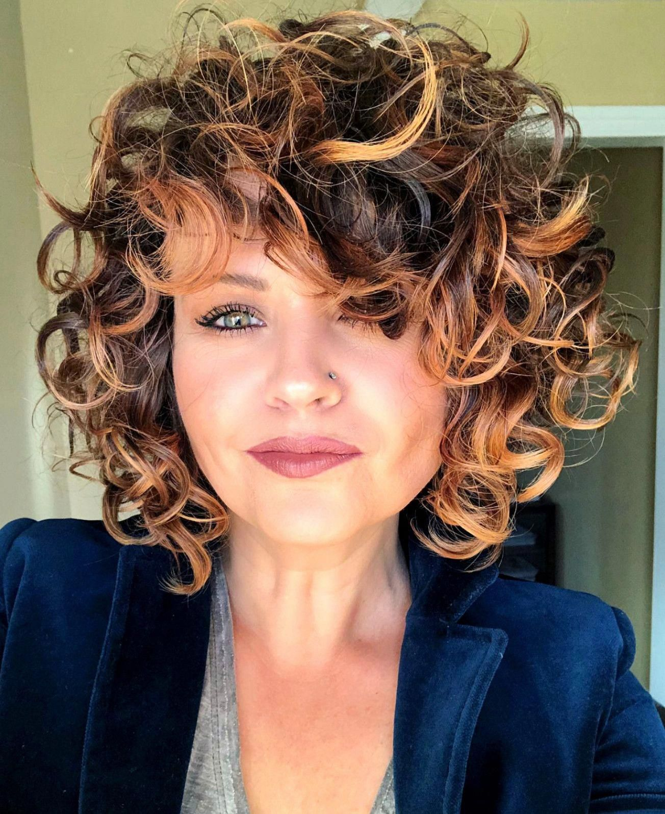These updo bob hairstyles are fabulous #updobobhairstyles | Short curly hair, Curly hair styles ...