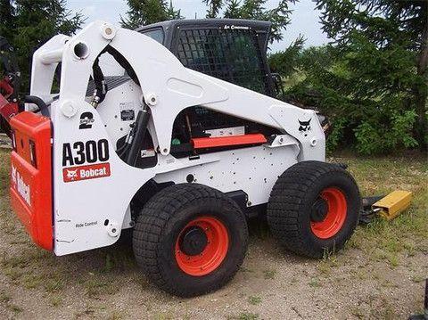 bobcat a300 all wheel steer loader service repair manual instant rh pinterest com bobcat a300 repair manual bobcat a300 repair manual