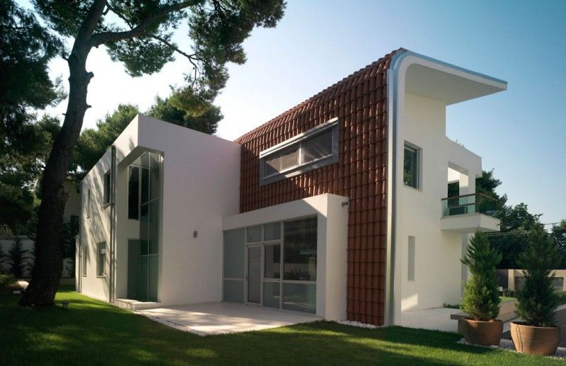 house in ekali by architect thanos athanasopoulos contemporary housesmodern housesgreek housearchitecture designminimalist - Greek Modern Home Architecture Design