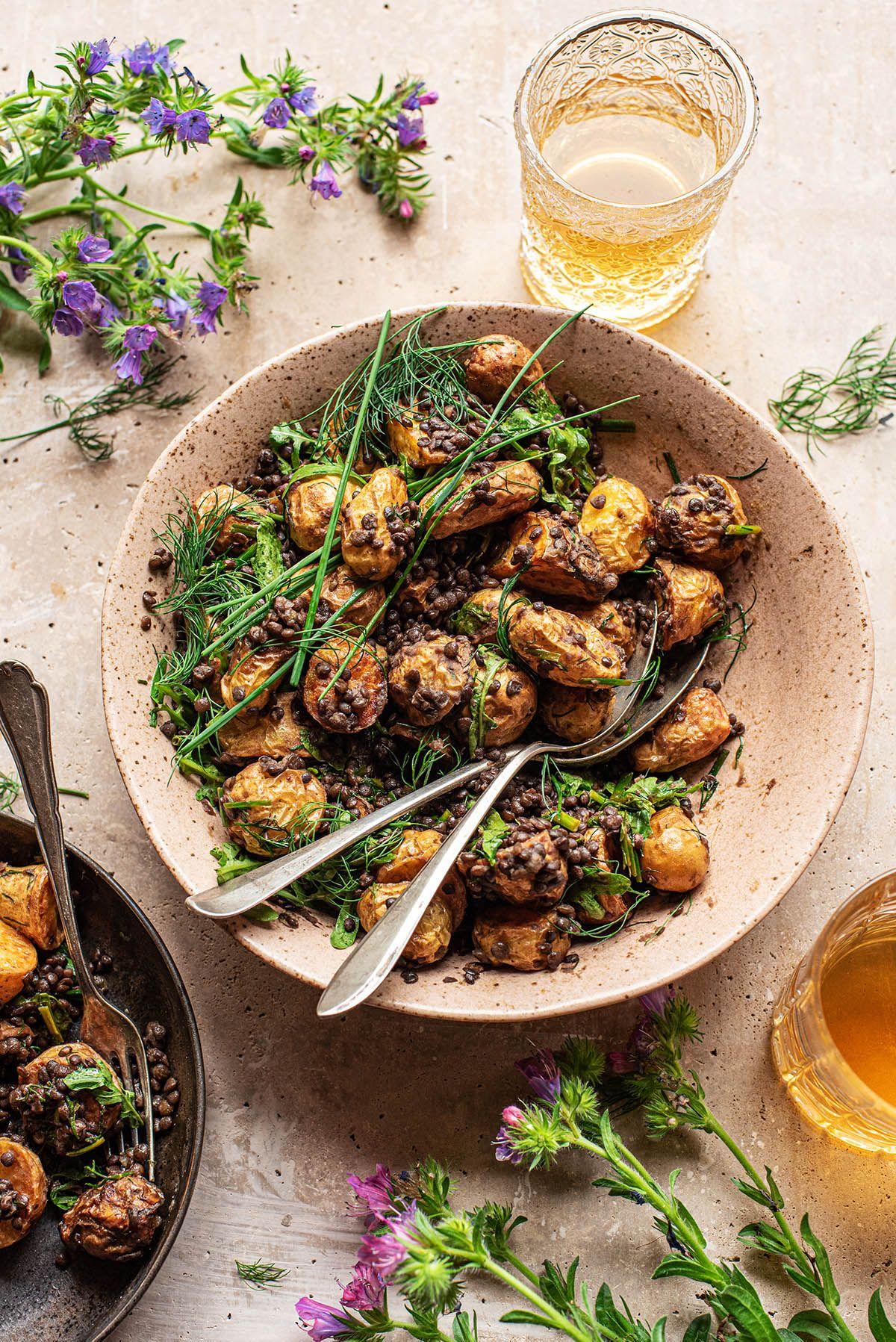 Potato Salad Herb Dressing Recipe