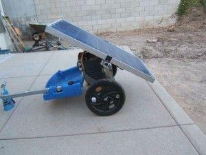 Do It Yourself Portable Solar Generator On Wheels Portable Solar Generator Solar Generator Portable Solar Power