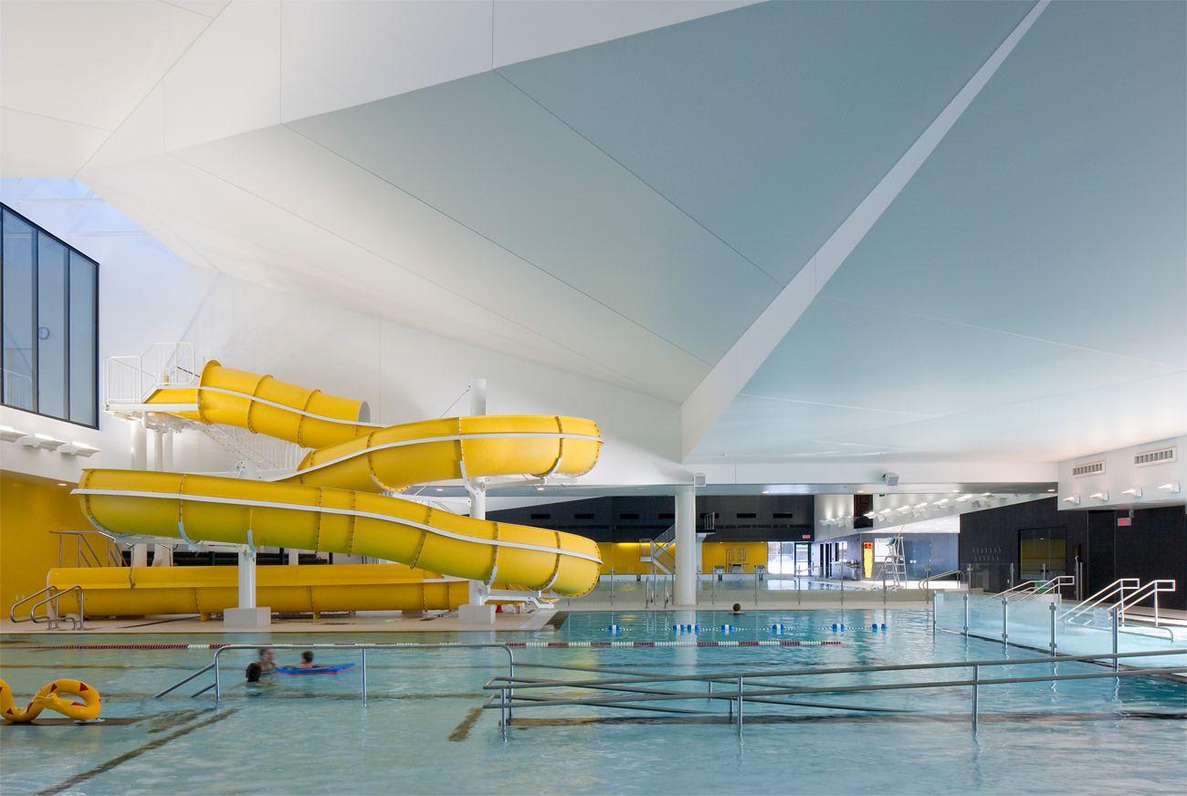 Piscine Hors Sol Avec Toboggan centre aquatique desjardins | piscine, architecture, piscine
