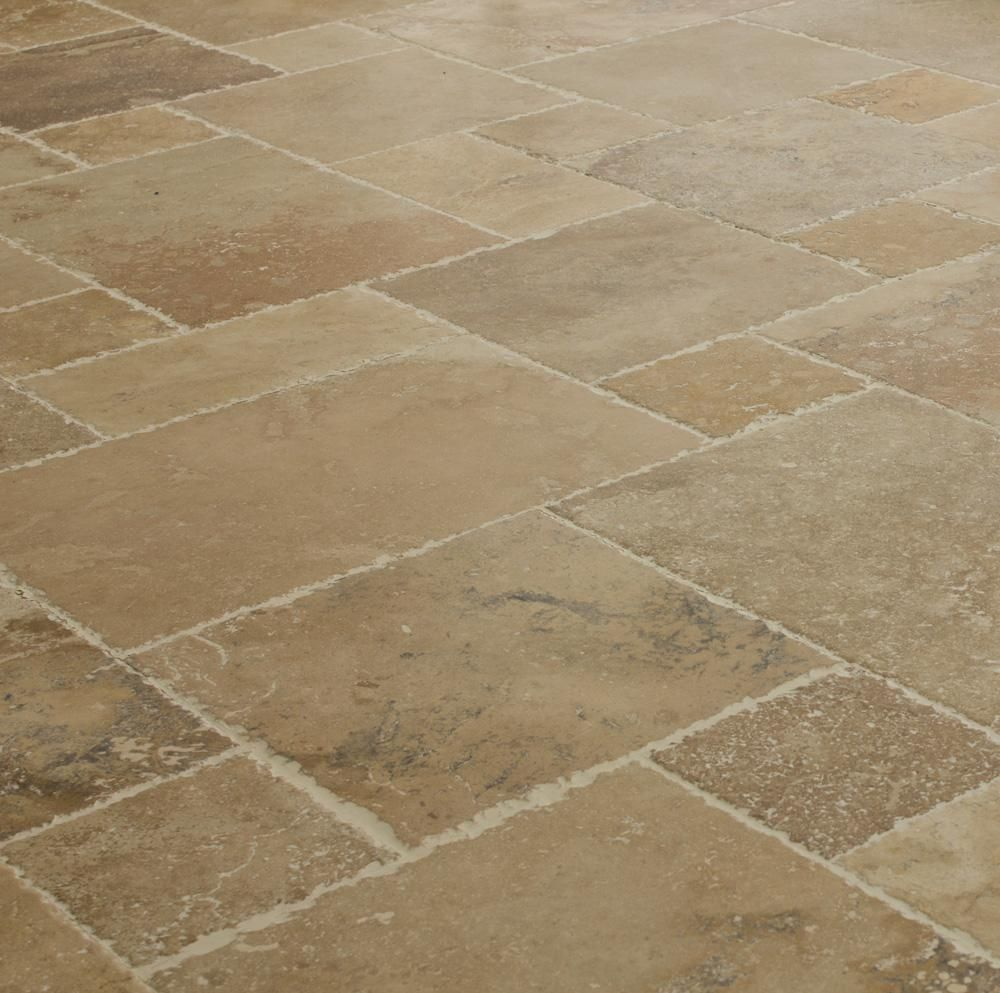 Kesir Travertine Tile Antique Pattern Sets Travertine