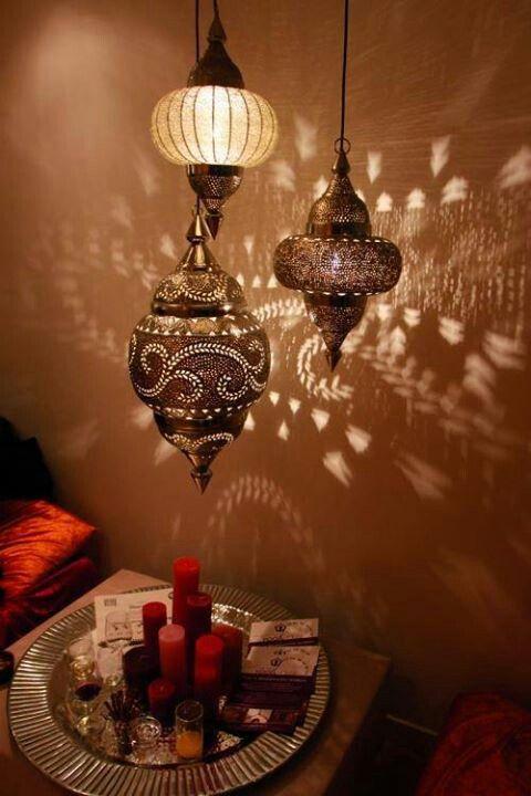 Boho Lanterns Fairy Lights Design Decor