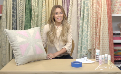 DIY Accent Pillows #LaurenConrad #CraftyCreations