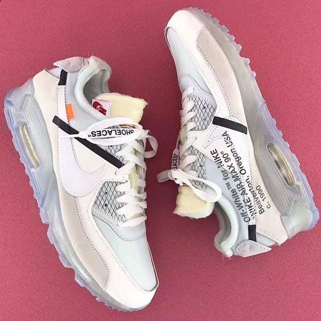 More pics of the Off-White x Nike Air Max 90 surface. Would you add this to  your rotation? Photo: | fashion | Pinterest | Air max 90, Air max and  Fashion