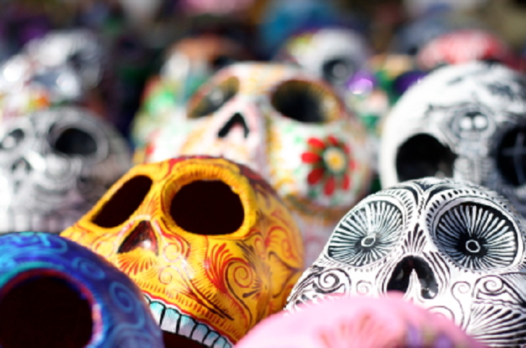 Celebrate Halloween, All Saints' Day and Day of the Dead