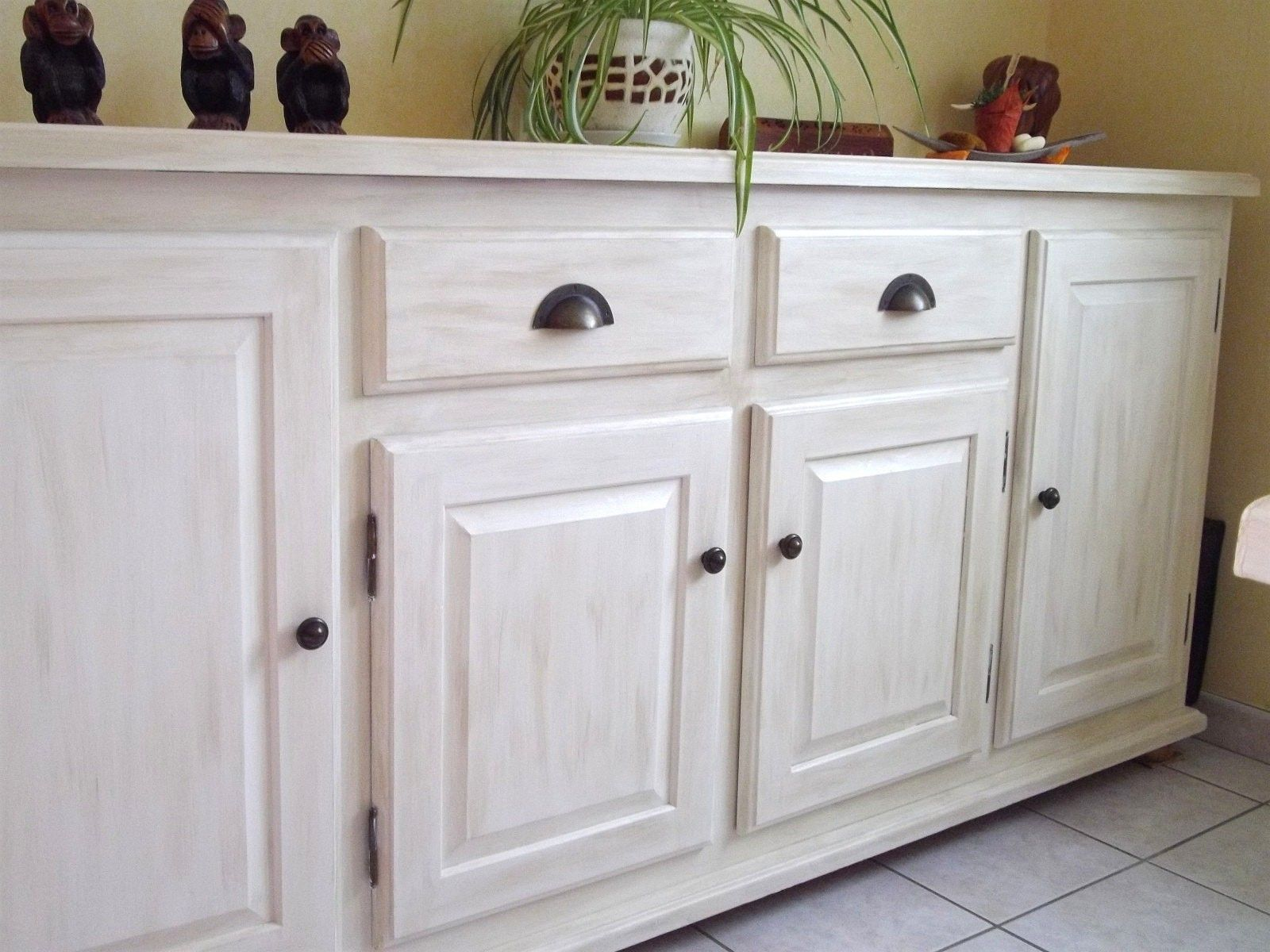 comment peindre un meuble vernis sans