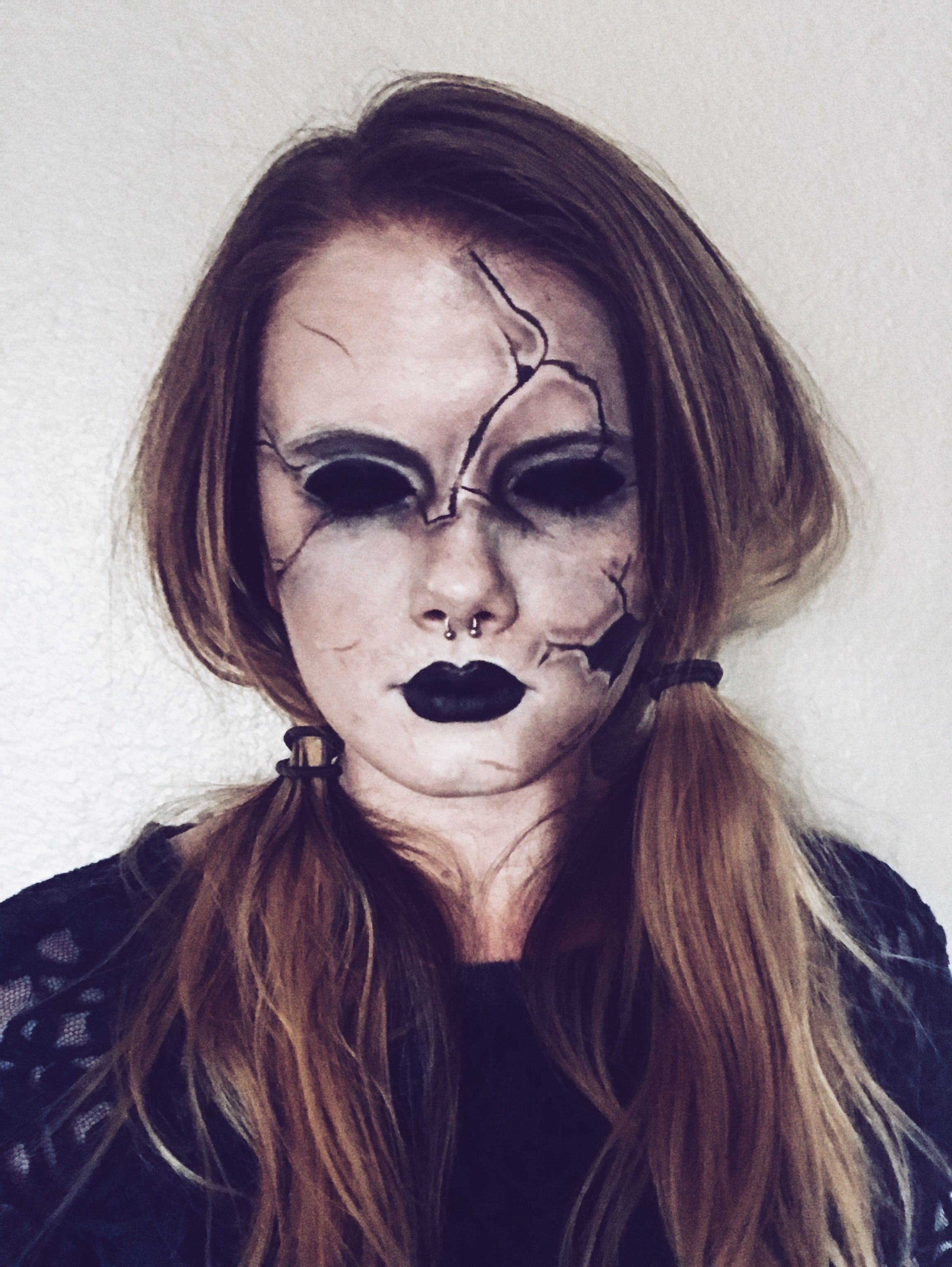 Creepy Scary Doll Makeup Vanessa Lopez55 Instagram For More With