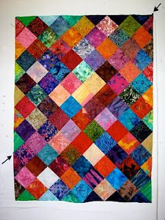 How To Turn A Charm Quilt On Point Charm Quilt Charm Square Quilt Quilt Patterns