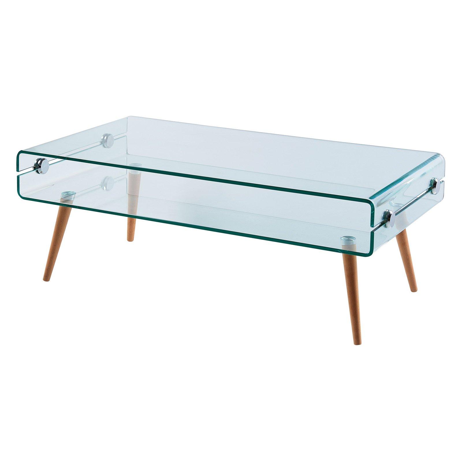 Versanora Cassetto Glass Coffee Table Huis [ 1600 x 1600 Pixel ]