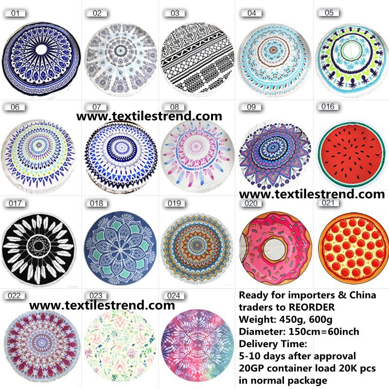 custom beach towels mandala towelbuy round beach towels - Cheap Beach Towels
