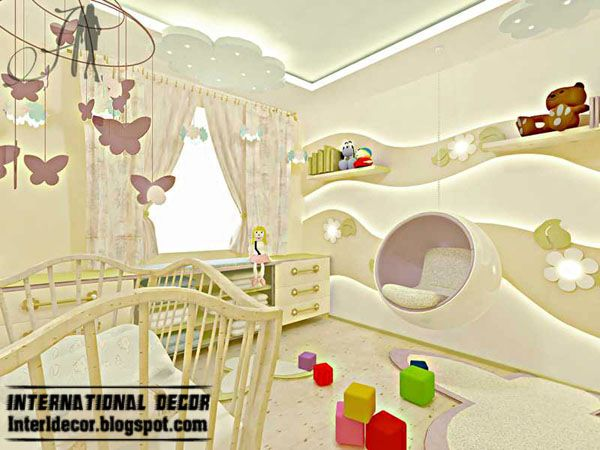 Kids Room Wall Design baby bear cartoon diy wallpaper for kids rooms sofa bedroom house decoration art decals design 3d Best Creative Kids Room Ceilings Design Ideas Cool False Ceiling And Pop Wall