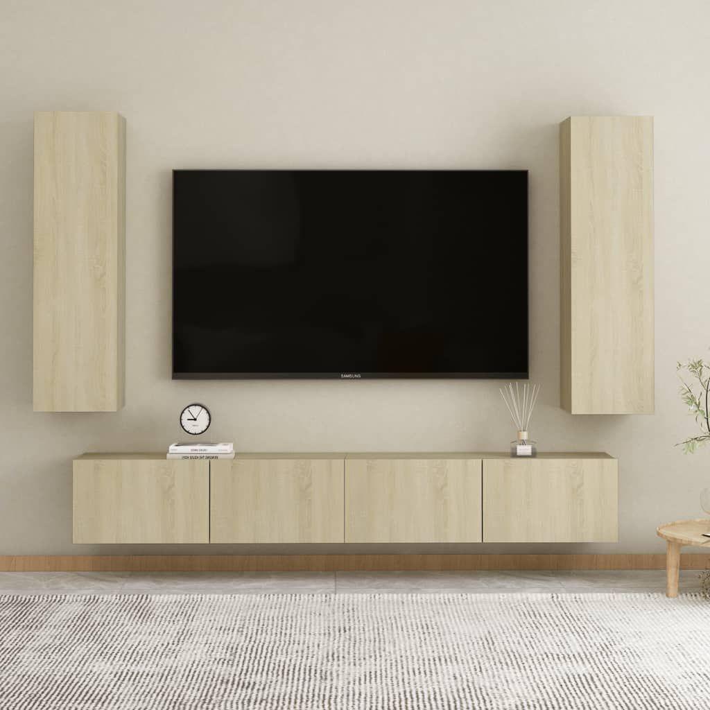 TV Cabinets 2 pcs Sonoma Oak 12