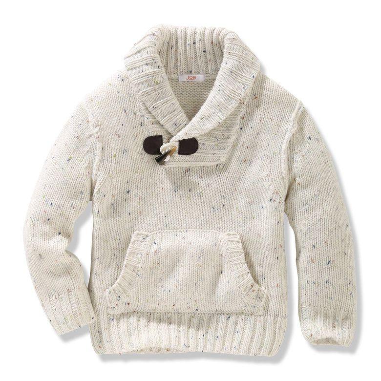 Toddler Boys' Shawl Collar Sweater - Joe Fresh - Toddler Boys' Shawl Collar Sweater - Joe Fresh Santa Mini - What