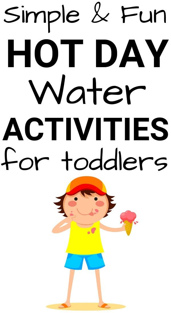 Photo of Simple & Fun Hot Day Water Activities for Toddlers