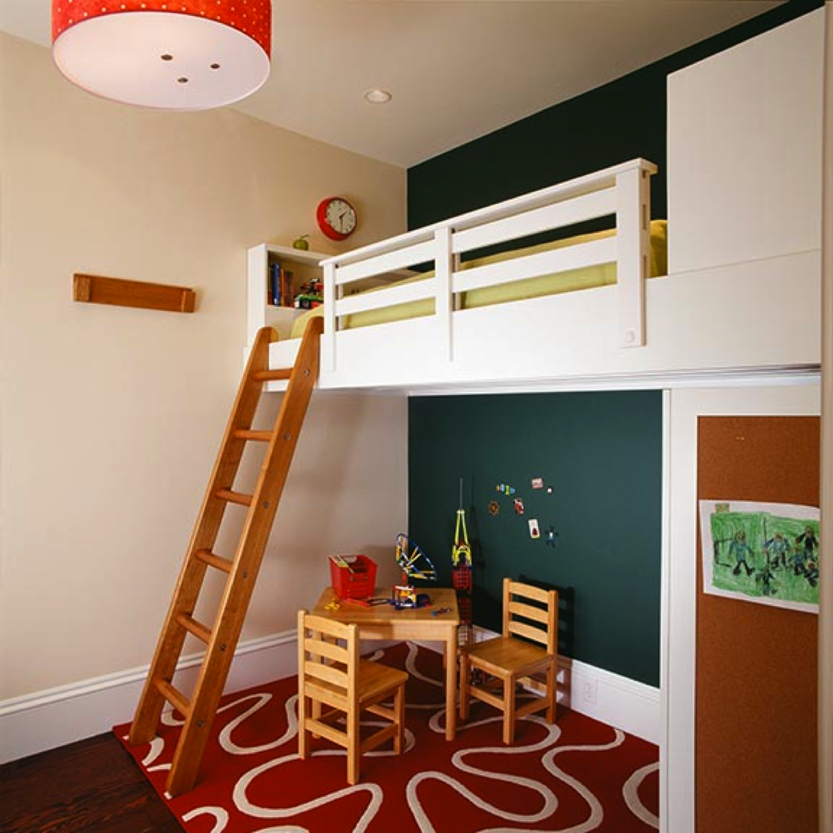 Loft bed with desk for small room  Mezzanine  Kids  Pinterest  Mezzanine Loft room and Big girl rooms