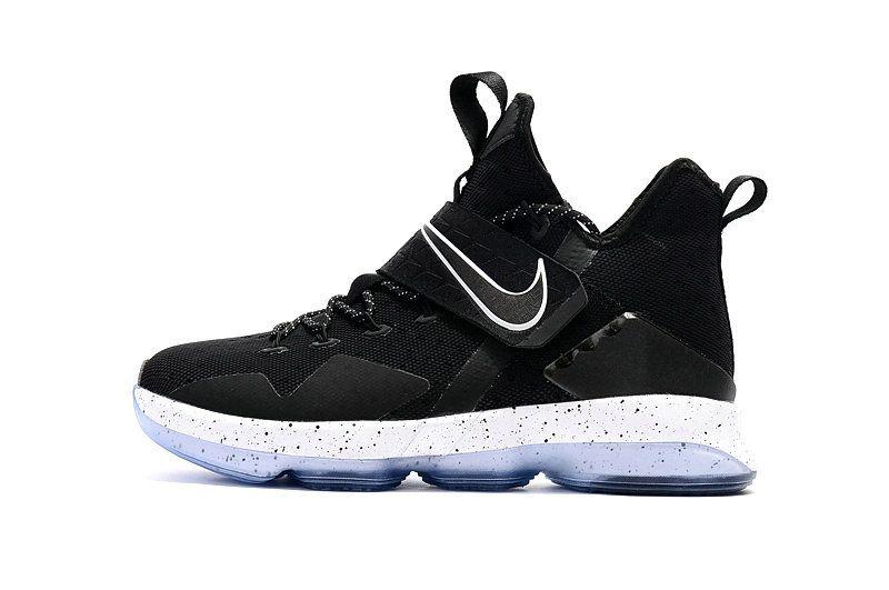 Free Shipping Only 69$ Big Boys Nike Lebron 14 XIV Black Ice CHASE DOWN  921084