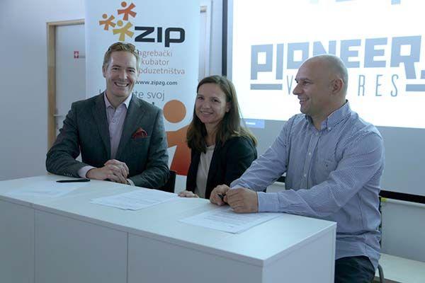 Stratesko Partnerstvo Zip A S Pioneers Venturesom I Speedinvestom