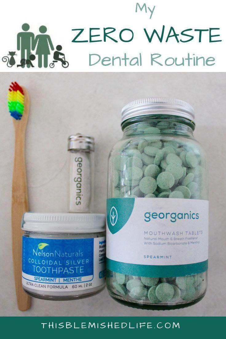 My Zero Waste Dental Routine #dentalcare