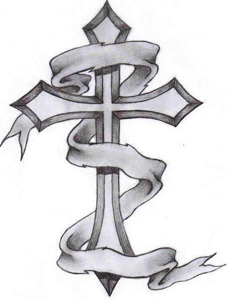 Cross tattoo design idea cross tattoos pinterest for Old rugged cross tattoo designs