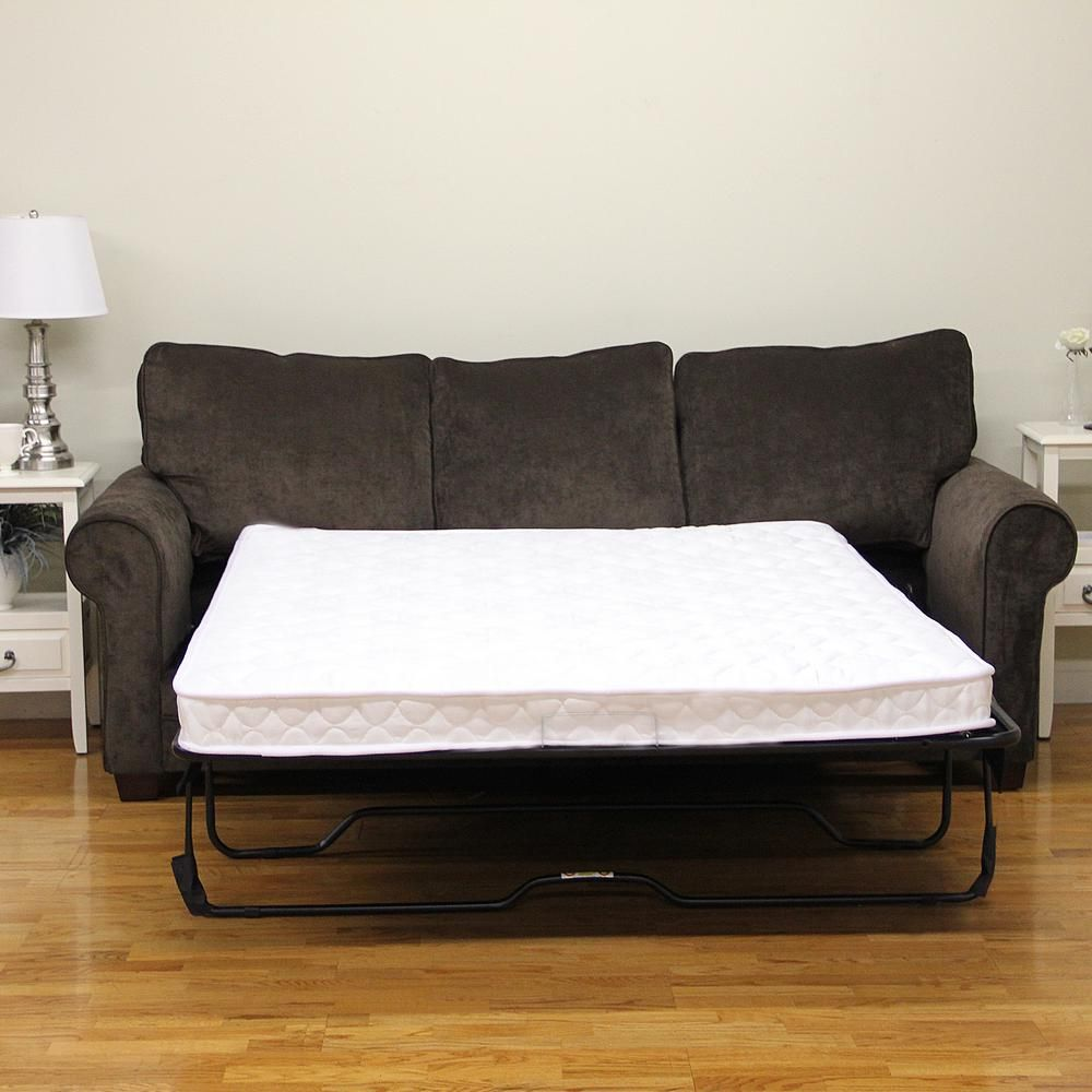 Sleep Options Classic Twin Size Innerspring 5 In Sofa Bed