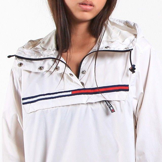 Vintage Tommy Hilfiger Anorak Jacket Outfit Marken Kleidung Und Mode Outfits