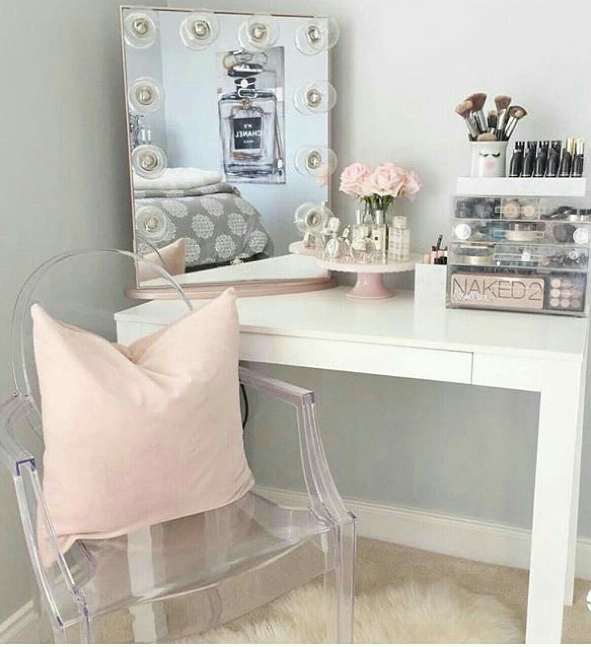 Pin by andrea on dressing table pinterest room decor master