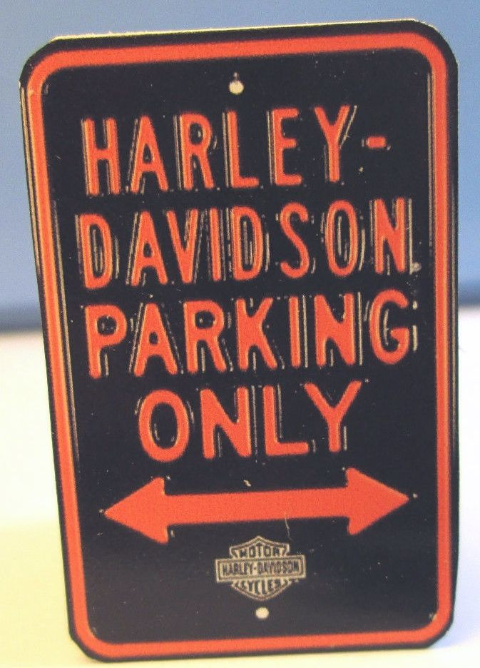 Motorcycle Parking Only Sign Marys Dollhouse Miniatures - Bmw parking only signs