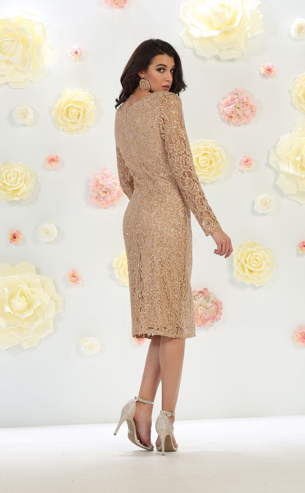 Mother of the bride short dress plus size in products