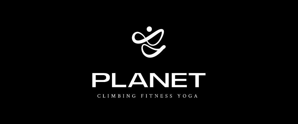 Planet Logo Design Logomark Logotype Climbing Fitness Yoga Abstract Human Sprite Shape Logo Variants In 2021 Identity Logo Identity Design Logo Planet Logo