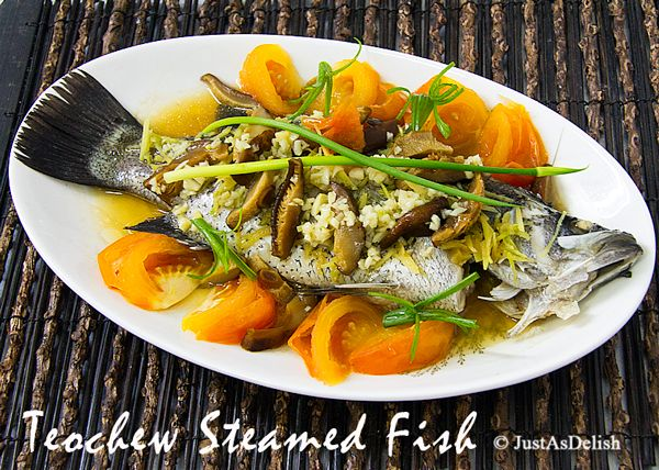Teochew steamed fish recipe healthy malaysian food blog food teochew steamed fish recipe healthy malaysian food blog food recipes forumfinder Images