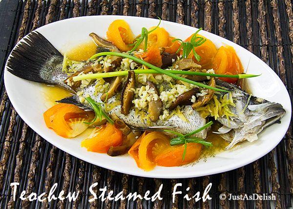 Teochew steamed fish recipe healthy malaysian food blog food teochew steamed fish recipe healthy malaysian food blog food recipes forumfinder Choice Image