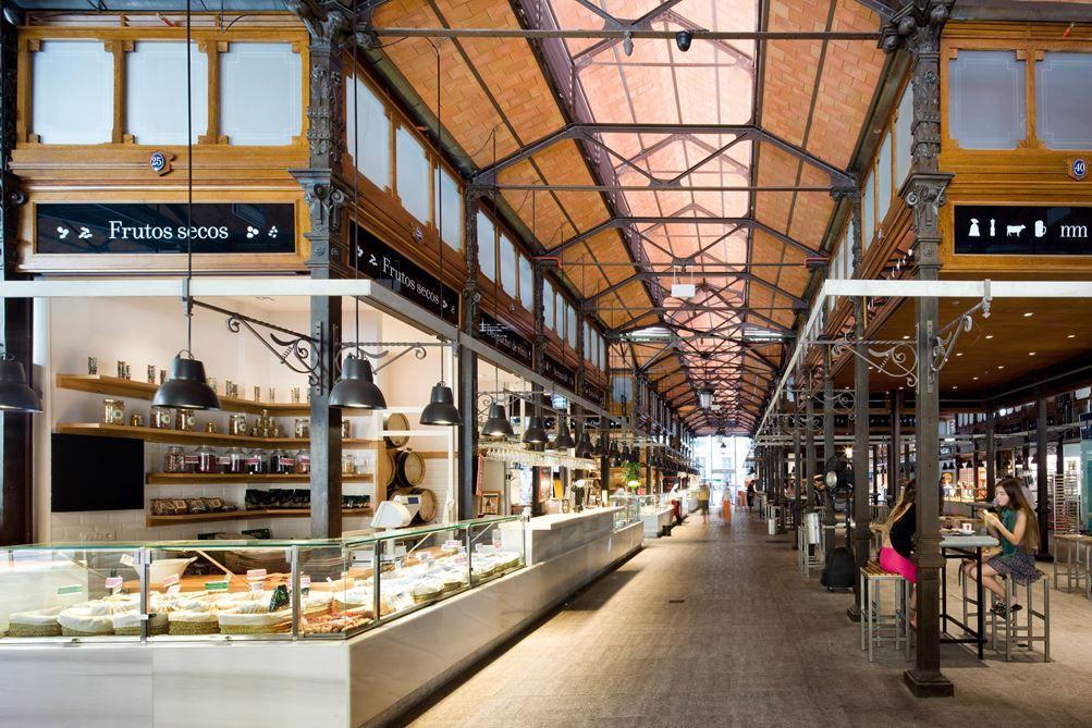 El Mercado De San Miguel Picture Gallery San Miguel Market Architecture Market Design