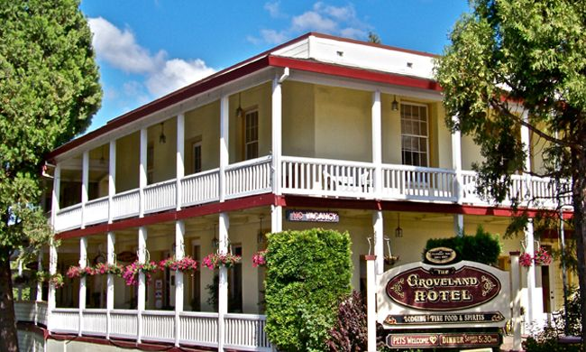 Groveland Hotel Ca Select Registry Bed Breakfasts Inns