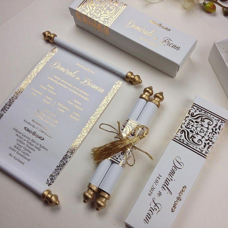 Elegance Handmade Custom Design, Real Gold Foil, I