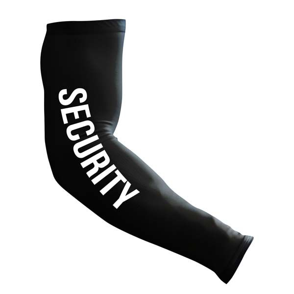 Compression Arm Sleeve | Black | Security Guard - SA Team