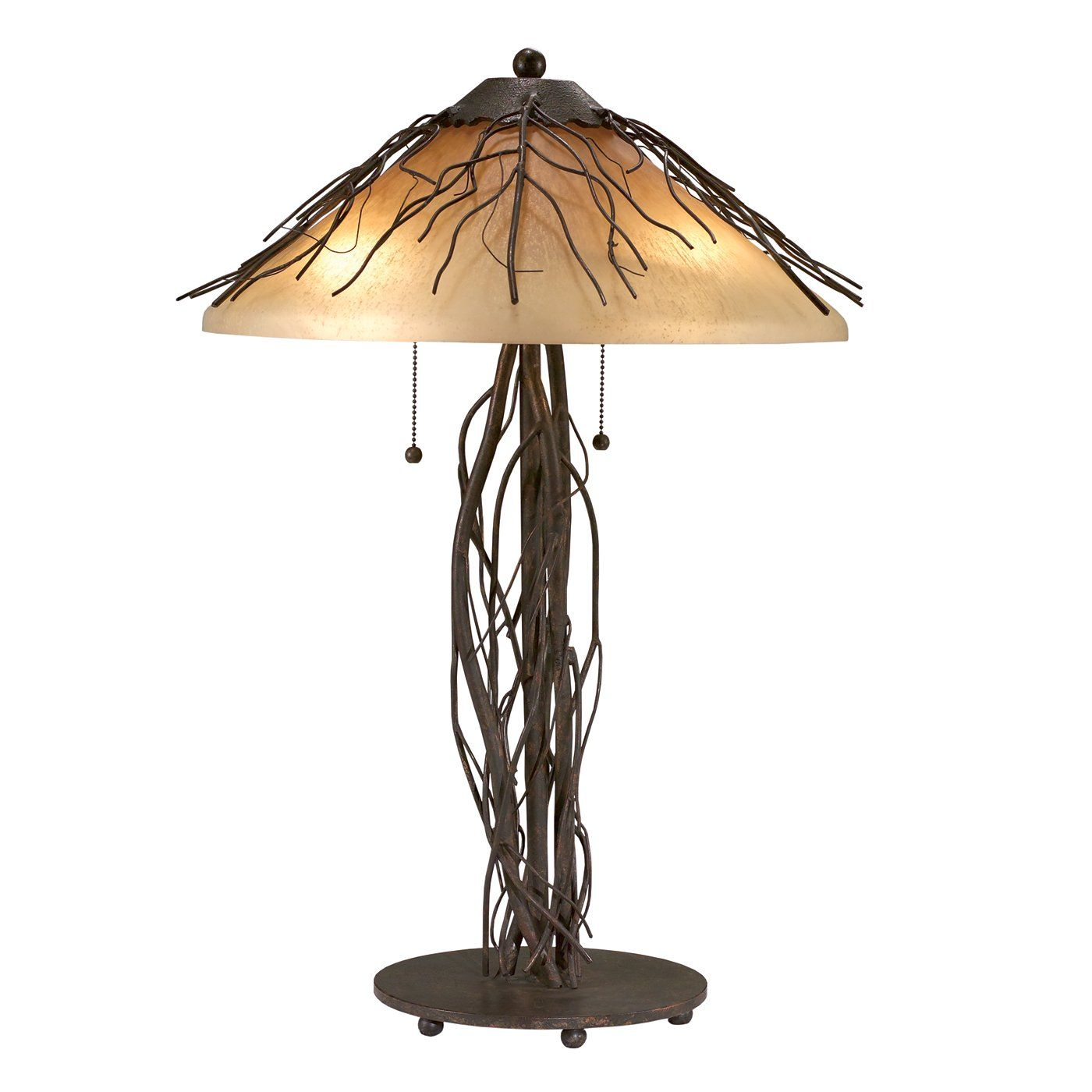 Shadow Mountain Sm1211 Tl Vi 3 Light Table Lamp Rustic Table Lamps Unique Table Lamps Western Lamps