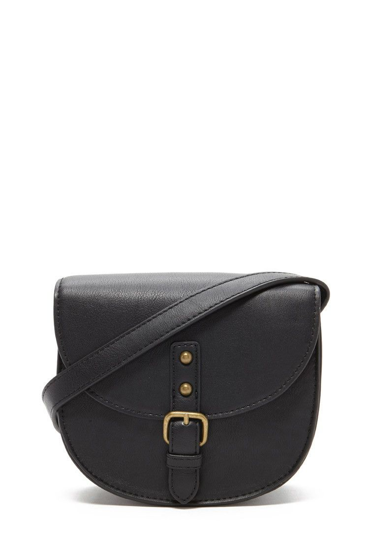 526a254815c Faux Leather Saddle Crossbody | a c c e s s o r i z e | Saddles ...