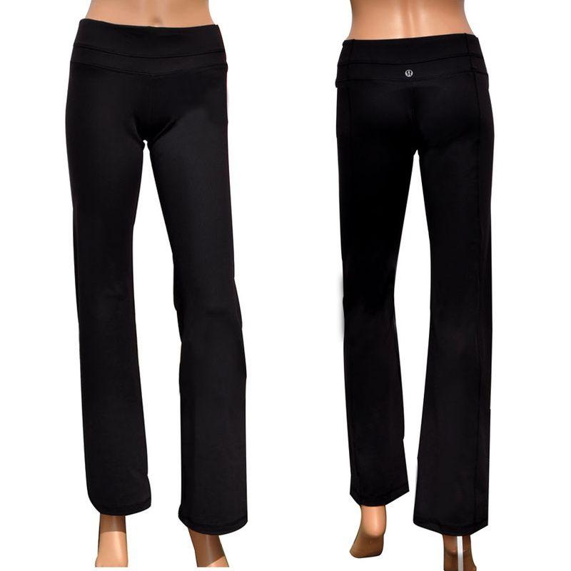 ccb5086f624 Lululemon Athletica Yoga Groove Pants Black Lululemon Canada, Lululemon Yoga,  Lululemon Athletica, Lululemon