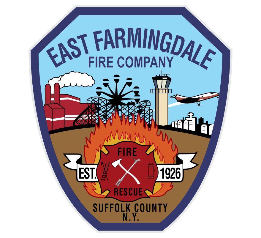East farmingdale fire company decal emergency service